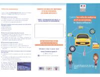 Plaquette info- vols de voitures