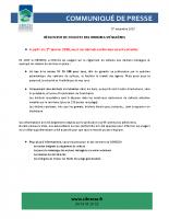 Règlement de collecte des OM au 1er janvier 2018