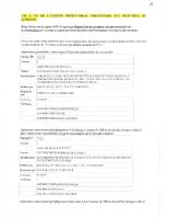 Consignes Prévention incendies – P1