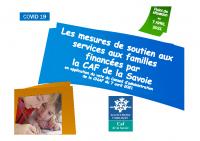 Mesures de soutien de la CAF pendant le COVID-19