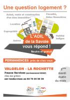 ADIL permanences Valgelon-La Rochette