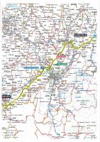 Tour de France 2021 – carte étape 10